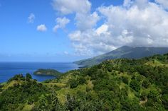 View of Saint Vincente island from high vantage point, Saint Vincente and the Grenadines | The Virtual Traveller | How to travel the world without leaving home | #virtualworldtrip