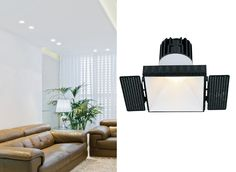 LED SPOTLIGHT WISDOM SERIES - Developed and invented to replace halogen in areas where reach and replacement is a pain for workers. #spotlight #indoorlighting #accentlighting