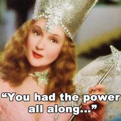 She has always been my fav! I had Glinda, the good witch, doll when I was a wee girl.