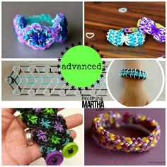 Rainbow Loom Advanced Bracelet Patterns