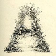Letterology: A Mid-19th C Landscape Alphabet