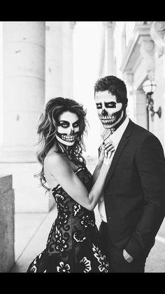 Amazing dia de los muertos costume idea!!! From: Hello Fashion Blog
