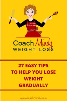 Having difficulty losing weight? Here are 27 Easy Tips To Help You Lose Weight Gradually. I believe preparation is the name of the game! Check it out now!