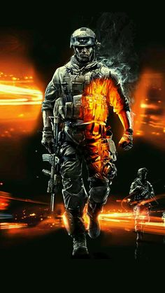 Wallpaper IPhone Battlefield 3 by qcsybe on DeviantArt Cool Wallpapers Samsung, Gaming Wallpapers, Cute Wallpapers, Handy Wallpaper, 4k Wallpaper For Mobile, Unique Wallpaper, Wallpaper Desktop, Battlefield 3, Indian Army Wallpapers