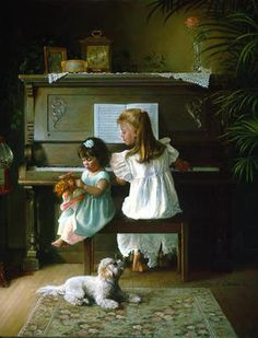 """...Greg Olsen........my sister and I learned to play piano and we would sing and play and create little shows for our parents all week long and have the """"show"""" every Sunday morning...."""