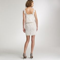Lace Luciana dress - love the lace back detail