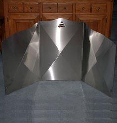 Wood Stove Heat Shield Ideas | Heat Shield