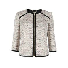 Ted Baker YOMOI - Contrast trim jacket ($375) found on Polyvore