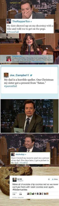 Top 10 Funny Tweets ft. Jimmy Fallon