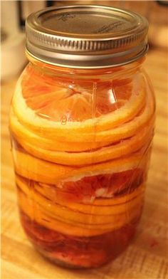 Make your own flavored vodka with fresh fruit and patience. We tried it in the winter with blood oranges. You can use any fruit you little heart desires. Vodka Recipes, Drinks Alcohol Recipes, Alcoholic Beverages, Drink Recipes, Fruit Infused Vodka, Blood Orange Vodka, Homemade Liquor, Orange Tea, Orange Recipes