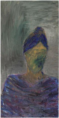 Nanna Susi Shadow on Face [varjo-kasvoilla] - Oil on Canvas 2012 Size: 280 x 140 cm Finnish Women, Helsinki, Figure Painting, Finland, Oil On Canvas, Illustration Art, Fine Art, Figurative, Faces