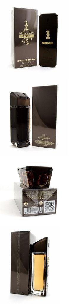 Men Fragrance: 1 Million Prive By Paco Rabanne Eau De Parfum Spray 3.4 Oz. For Men. Nib Sealed. BUY IT NOW ONLY: $64.0