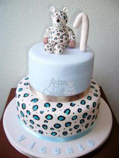 41 Best Leopard Print Cakes Images Leopard Cake Cupcake Cakes