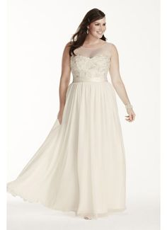 b9d887427338c Illusion Tank Plus Size Wedding Dress with Lace 9MK3747 Rustic Wedding  Dresses