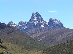 Mt. Kenya.