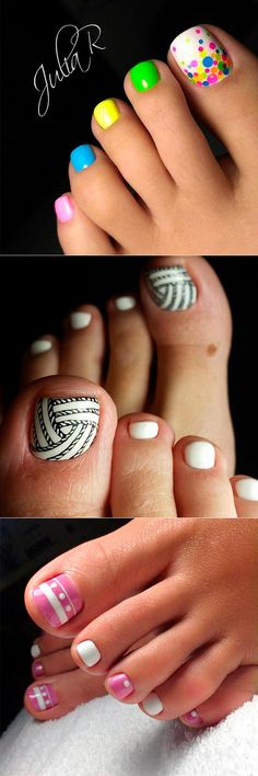 The freshest and most beautiful nail designs for toes can be found in our new post. Check them out and pin the cutest to show to your nail artist later.