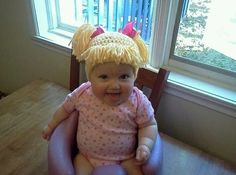 Cabbage Patch Hat. Oh my gosh! If I have a girl...