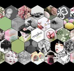 Maiko chic moodboard