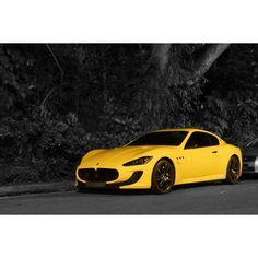 Maserati GranTurismo 454bhp! Stunning killer yellow bee!