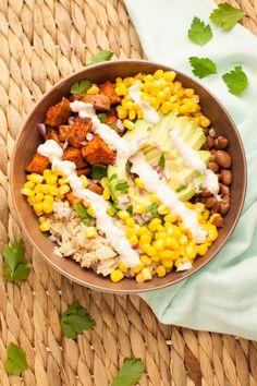 Fig & Thyme - Sweet Potato Burrito Bowl