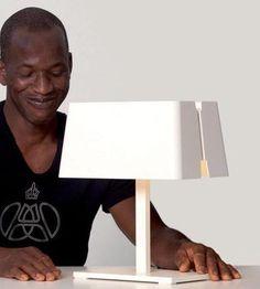Manhattan Small Square Table Lamp