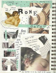 I did a similar journal entry for my trip to Copenhagen exactly 6 months ago. Now I'm going to Rome soon so made one for this trip too.