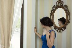 Fata în rochie albastră. My Photos