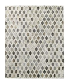 Solemani's Link Cowhide Rug for RH.