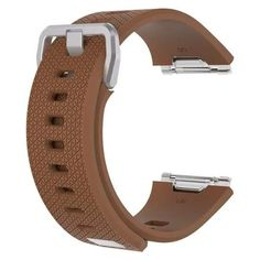 Fitbit Ionic Big Fashion, Sport Fashion, Replacement Watch Bands, Leather Wristbands, Silicone Bracelets, Eye Jewelry, Leather Watch Bands, Smartwatch, Pattern Fashion