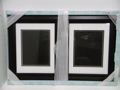"""OLD TOWN 11"""" x 14"""" SOLID WOOD PICTURE FRAMES WITH DESIGNER BLACK FINISH NEW  #OLDTOWN #Contemporary"""