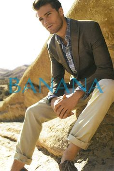 Jamie Dornan photographed by Peggy Sirota for Banana Republic's Spring/Summer 2011 campaign.
