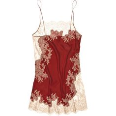 Carine Gilson Babydoll silk-satin chemise (€520) ❤ liked on Polyvore featuring intimates, chemises, lingerie, tops, underwear, women, floral lingerie, chemise lingerie, babydoll chemise and carine gilson
