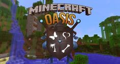 I loveeee minecraft oasis! Minecraft Oasis, Minecraft Stuff, Ihascupquake Minecraft, Make You Cry, You Are Amazing, Best Youtubers, Goodies, Old Things, Make It Yourself