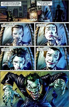 Really Alfred???? REALLY, BRUH??? Oh my goodness. Batman's world is mad twisted....but I love it.