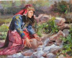 Nevşehir Art Gallery, Art Painting, Drawings, Indian Art, Painting, Woman Painting, Art, Clip Art, Art Pictures