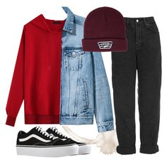 """""""ED"""" by lerazhihareva on Polyvore featuring мода, Topshop и Vans"""