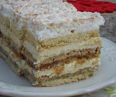 Ciasto wielosmakowe - PrzyslijPrzepis.pl Krispie Treats, Rice Krispies, Vanilla Cake, Food And Drink, Ethnic Recipes, Cheesecake, Cook, Diet, Poland
