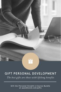 The best gifts are those with lasting benefits. Give the gift of personal growth with this professional and personal development e-course bundle.