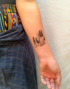 2 Forest Temporary Tattoos SmashTat by SmashTat on Etsy, $6.00