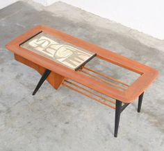 Coffee table from the fifties by Alfred Hendrickx for Belform