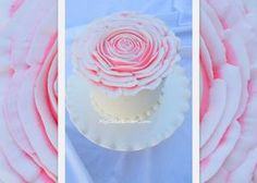how to pipe a big, beautiful buttercream rose from @My Cake School