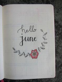 Bullet Journal – Hello June