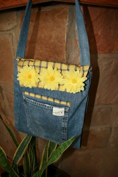 Upcycled Jeans Bag Tutorial
