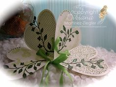 Stamping with Bibiana: Guest Tutorial Designer and Writer at Splitcoaststampers! with a St. Patricks Shamrock Fold Card
