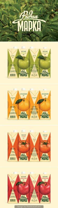 Earth tones drink packaging