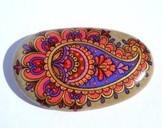 Hand geschilderd Rock Magic Rock Pebble door PleasureForTheSOUL