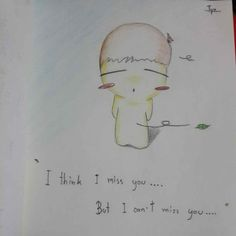 My drawing 'Stupid boy'.