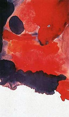 Helen Frankenthaler, Blue Atmosphere