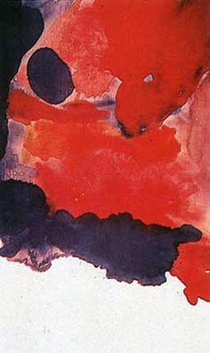 Helen Frankenthaler, Blue Atmosphere