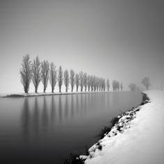 BLACK & WHITE LANDSCAPES By Pierre Pellegrini - For Pierre Pellegrini, photography is both a wonderful means of communicating and a tool for transmitting emotion. «I'm not sure whether I seek subjects to photograph or the subjects come in search of me. In any case, each time that this happy accident takes place, it results in an image perfectly in harmony with myself and my personality.»